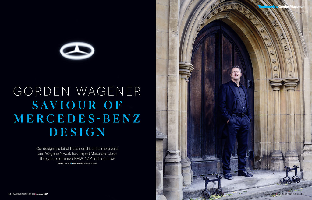 Gorden Wagener, CDO Daimler AG Mercedes for Car Magazine